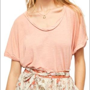 FREE PEOPLE Under the Sun T Shirt Top